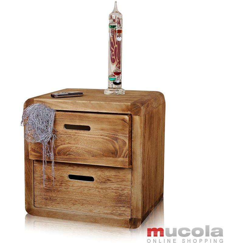 Mesita de noche mesa de noche armario de noche Marrón cajones mesa auxiliar consola de noche armario de noche cómoda de noche Shabby usado