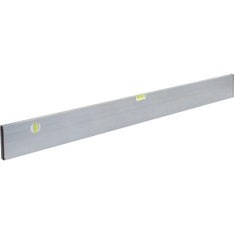 Mess-/Richtlatte Länge 1500mm Breite 100 mm Tiefe 18mm Alu. mit 2 Libellen