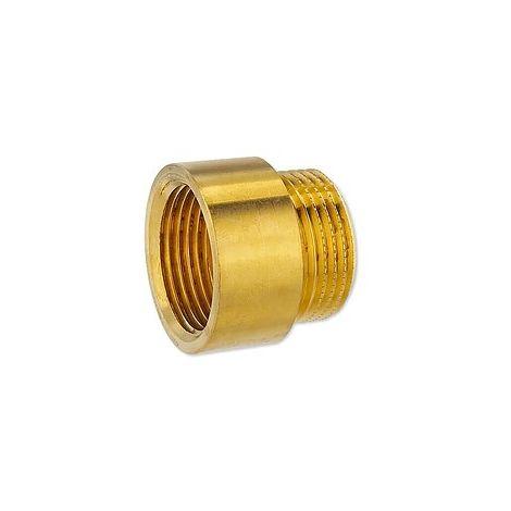 Messing Gewindefitting-Hahnverlängerung 1/2'' x 15 mm
