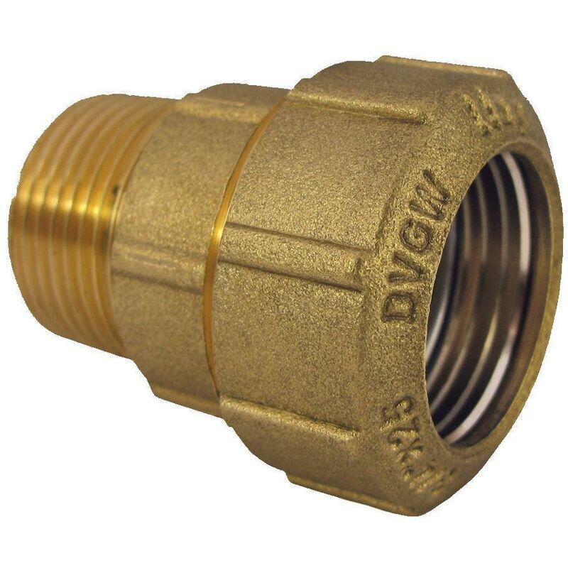 """PE Rohr Kupplung 20 x 20 mm 1//2/"""" Zoll Verschraubung Muffe Klemmverbinder Fitting"""