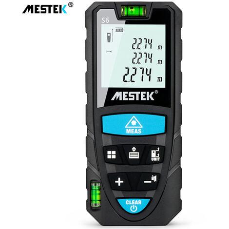 MESTEK, telemetro laser digital portatil, telemetro laser de nivel electronico, 100m