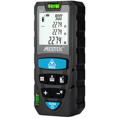 MESTEK, telemetro laser digital portatil, telemetro laser de nivel electronico, 70m