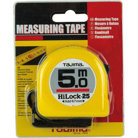 Mesure ABS jaune HI lock tajima 3 M x 16 mm - Mob/Mondelin
