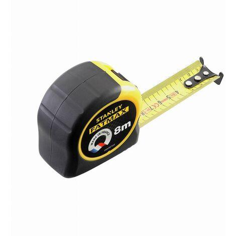 Mesure courte Blade Amor Fatmax Stanley - Longueur 8 m - Largeur 32 mm - Jaune et noir