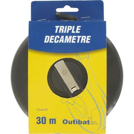 Mesure decamètre ruban fibre Outibat