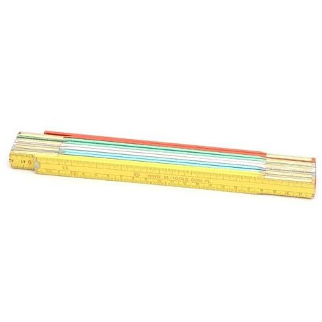 mesure en bois couleur 2m PRO-TECHNIK, le ressort