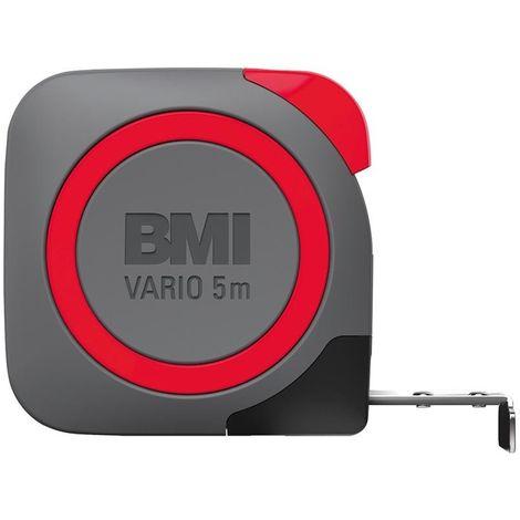 Mesure Mètre Vario EGI 5mx16mm blanc BMI