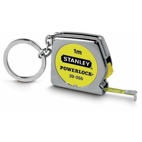Mesure Powerlock - 1 m x 6,35 mm - Porte-Clés - STANLEY, 0-39-055