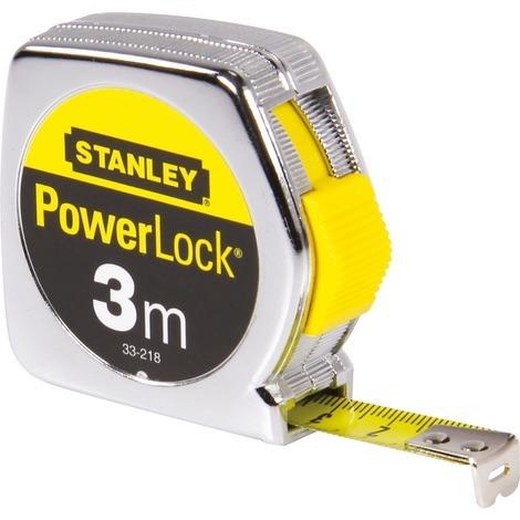 Mesure Powerlock Classic Métal 3m x 12,7mm 0-33-218 STANLEY