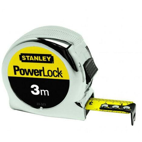 Mesure Powerlock STANLEY - plusieurs modèles disponibles