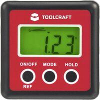 Mesureur d'angle numérique Toolcraft X856331