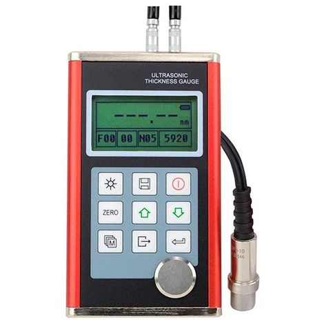 Mesureur d'épaisseur ultrasons PRO. plus câble plus logiciel PC. De 0,75 à 300 mm - F700 - D-Work