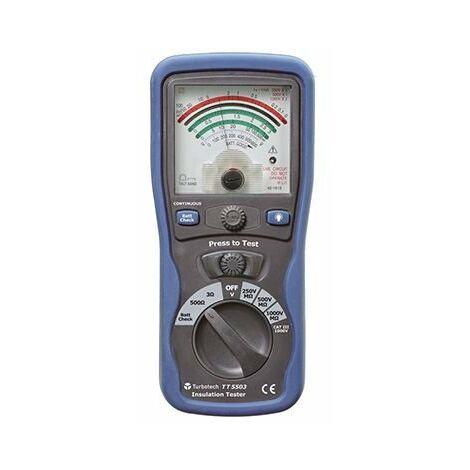Mesureur d'isolement analogique 250/500/1000V400 Mohms