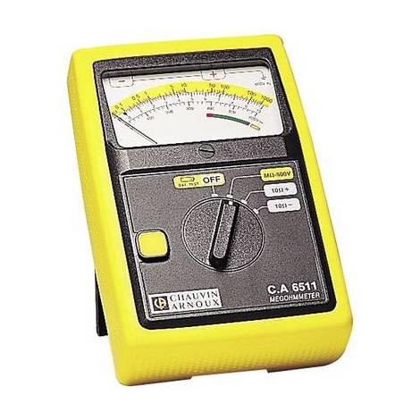 Mesureur disolement Chauvin Arnoux C.A 6511 P01140201 500 V 1 pc(s)