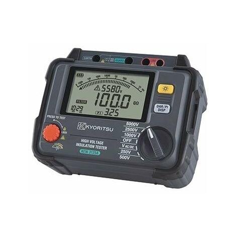 Mesureur d'isolement numérique 250/500/1000/2500/5000V
