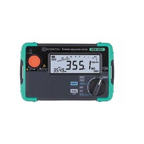 Mesureur d'isolement numérique 50/100/125/250/500/1000V