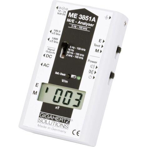 Mesureur d'ondes électromagnétiques BF Gigahertz Solutions ME3851A Etalonnage d'usine (sans certificat) 1 pc(s) Q77271