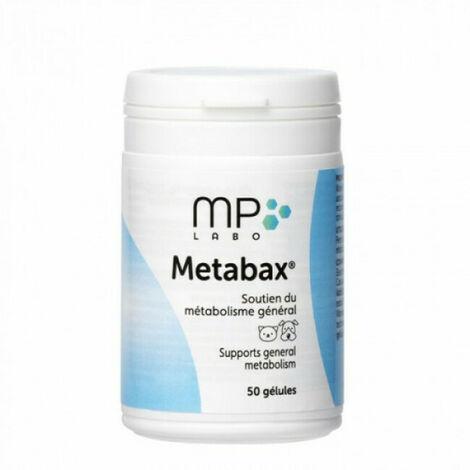 Metabax soutien du métabolisme général chien et chat MP Labo