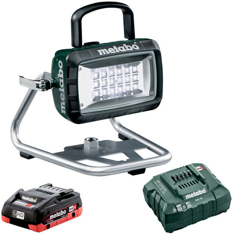 Metabo 14.4-18V LED Cordless Site Light Body 4.0Ah Battery & Charger