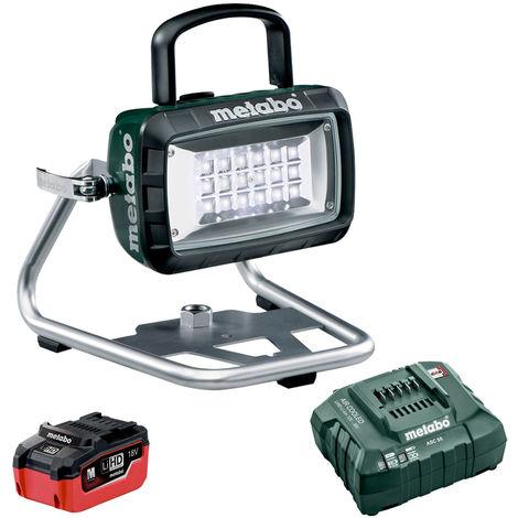 Metabo 14.4-18V LED Cordless Site Light Body 5.5Ah Battery & Charger