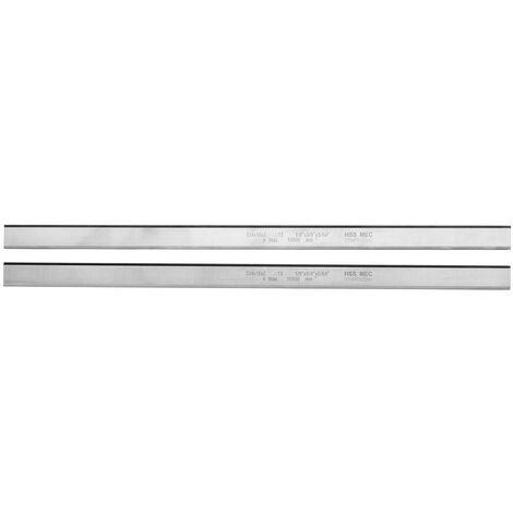Metabo 2 fers de rabot réversibles HSS 334 x 16 x 2 mm,(jusqu'à l'année de fabrication 2005), DH 330 - 0911062119