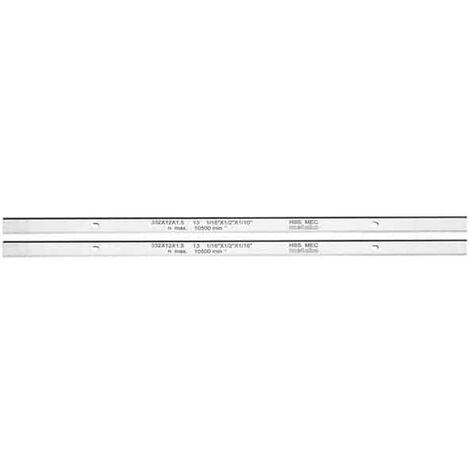 METABO 2 fers de rabots HSS pour DH330/316 - 0911063549