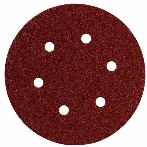 Metabo 25 feuilles abrasives auto-agrippantes 150 mm, P 100, B+M, SXE (624022000)