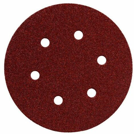 Metabo 25 feuilles abrasives auto-agrippantes 150 mm, P 240, B+M, SXE (624025000)