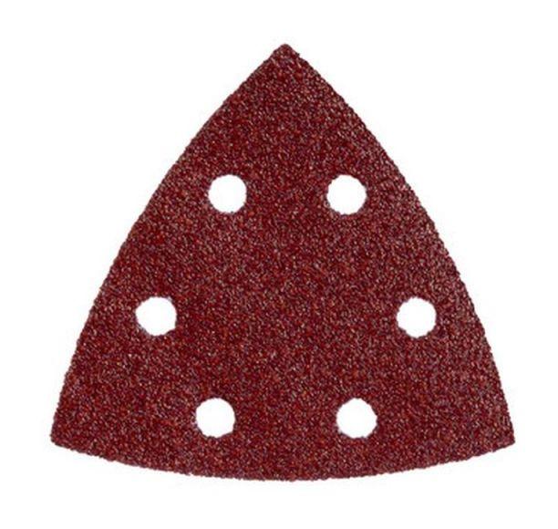 Haftschleifblätter Dreieck 125mm Korn 60 120 und 180
