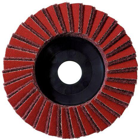 Metabo 5 x plateau abrasif à lamelles combiné 125 mm, grossier, WS