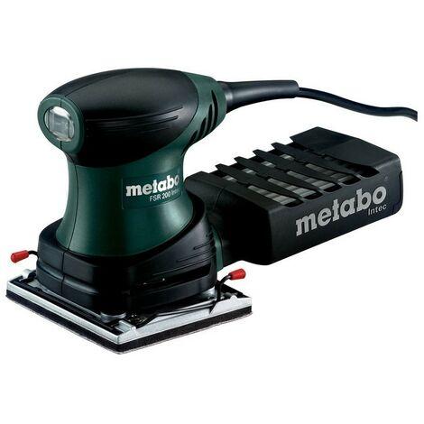 Metabo 600066500 Lijadora orbital para madera FSR 200 Intec 200W Con maletín