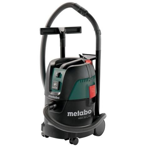 Metabo 602014000 Aspirador para seco y húmedo ASA 25 L PC 1200W Depósito 25 litros