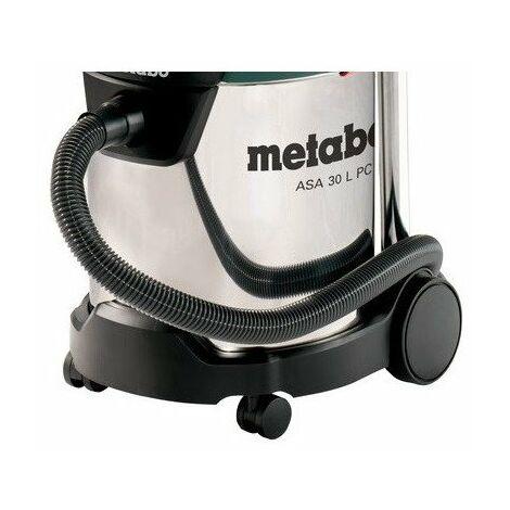 Metabo 602015000 Aspirador para seco y húmedo ASA 30 L PC Inox 1200W Depósito 30 litros