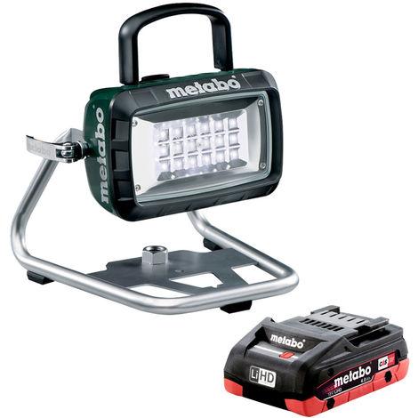 Metabo 602111850 14.4-18V LED Cordless Site Light Body & 4.0Ah Battery