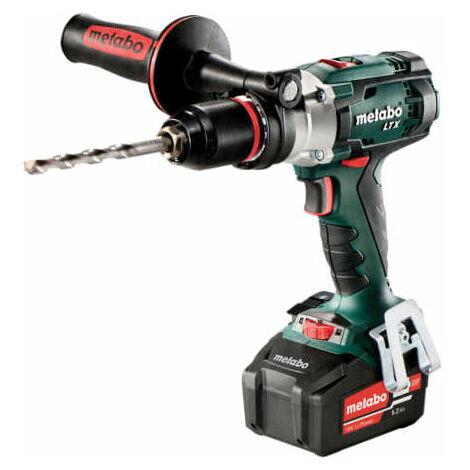Metabo 602192680 SB 18 LTX Cordless Combi Hammer Drill 18 Volt 2 x 5.2Ah Li-Ion