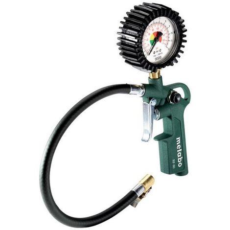 Metabo 602233000 Inflador medidor de presión de neumáticos RF 60 Longitud de manguera 35 cm