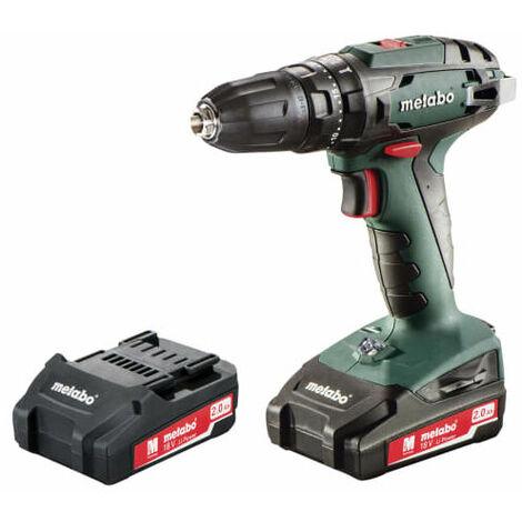 Metabo 602245500 Combi Drill 18 Volt 2 x 2.0Ah Li-Ion