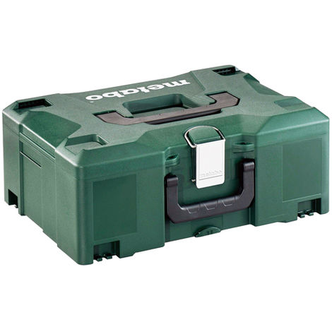 Metabo 626431000 Systainer Metaloc II Stackable Carry Case No Insert