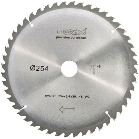 """main image of """"Metabo 628061000 Lame de scie circulaire 254 mm 1 pc(s)"""""""