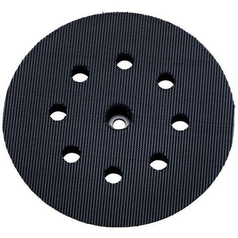 Metabo 631220000 Plato de apoyo multiperforado Enganche velcro D125 mm Dureza blando