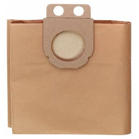 Metabo 631935000 Paper Filter Bags For ASR Wet & Dry Vacuum Cleaners Pack of 5