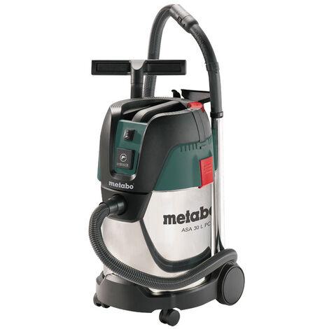Metabo ASA 30 L PC INOX - Aspirateur eau et poussière - 1250W - Classe L - 30L