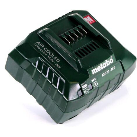 Metabo ASC 30-36 V AIR COOLED Chargeur 14,4-36V ( 627044000 )