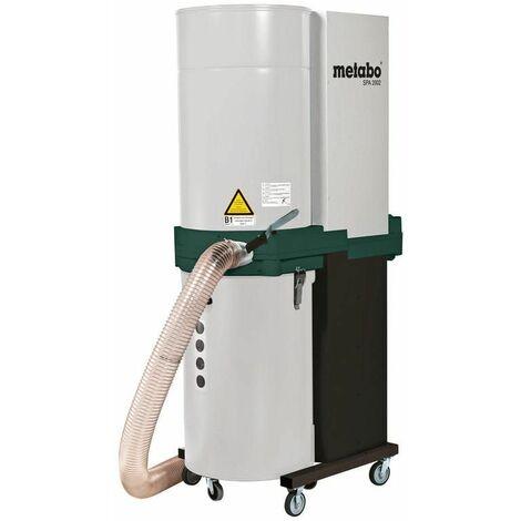 Metabo Aspirateur à sciures SPA 2002 D, pour courant triphasé, carton - 0130200110