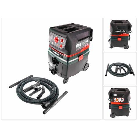 Metabo ASR 36 18 BL 25 M SC Aspirateur eau/poussière sans fil, sans balai 36 V (2x 18 V), 25 L- sans batterie, sans chargeur (602046850)