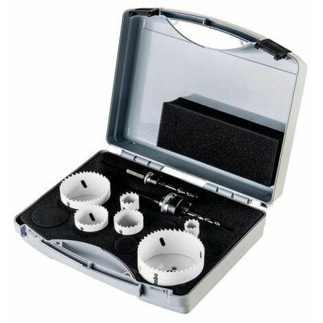 Metabo Assortiment de scies cloches bimétal, 8 pièces (625159000)