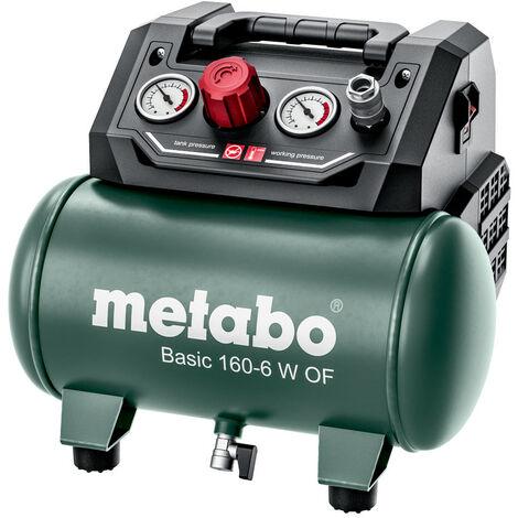 "main image of ""Metabo BASIC 160 6 W OF (601501000) BASIC KOMPRESSOR 8 Bar, 65 L/Min"""