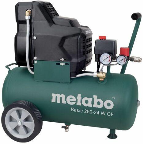 Metabo Basic 250-24 W DE Compresor - 1500W - 8 bar - 24L - 100 l / min