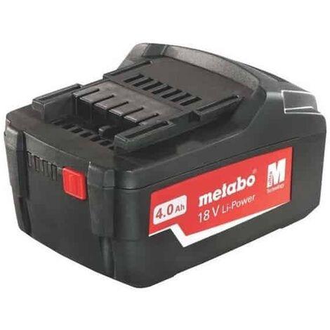 """main image of """"Batterie METABO 18V 4.0 Ah Li-Power - 625591000"""""""