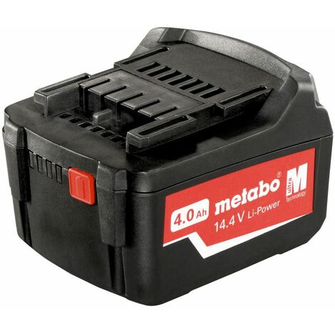 Metabo Batteries Li-Ion coulissante « AIR COOLED » 14,4 V / 4,0 Ah - 62559000